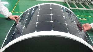 China 85W Flexible Thin Film Solar Panels , Back Contact Solar Cells Wide Compatibility on sale