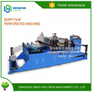China SINO-HS NEW CONDITION HIGH PERFORMANCE BOPP FILM  PERFORATED MACHINE on sale
