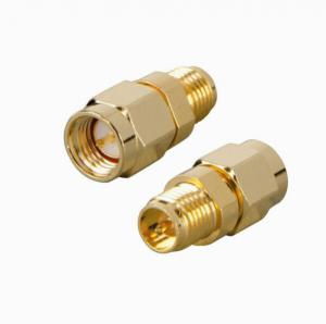 China adapters sma male to sma female connector ,impedance 50 ohm ,gold plated on sale