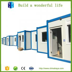 China low cost prefab shipping container homes steel house for sale in usa on sale
