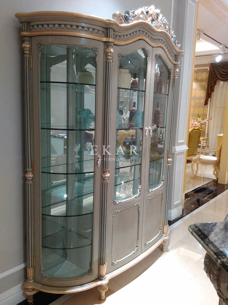 Dining Room Side Cabinet Wine Cabinet Sideboard Modern Glass Two Doors Sideboard Fj 133b For Sale Bar Furniture Manufacturer From China 108544736