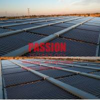 China Solar Water Heater Vacuum Tube Solar Collector , Evacuated Tube Collector 2000L Solar Water Heater on sale