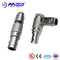 China M12  6 pin straight and right angle male connectors for  audio cable on sale