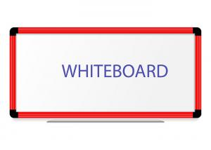 China Double Side Wall Mounted Magnetic Whiteboard On Wall Calendar Aluminum Frame on sale