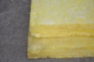 China Sound Deadening Glasswool Insulation Batts For Walls And Ceilings on sale