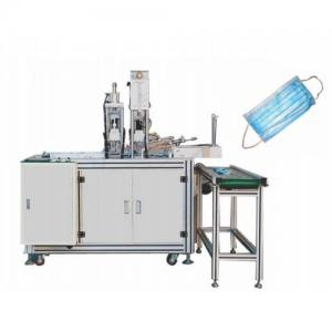 China Disposable Pollution Mask Making Machine beautiful aluminum alloy structure on sale