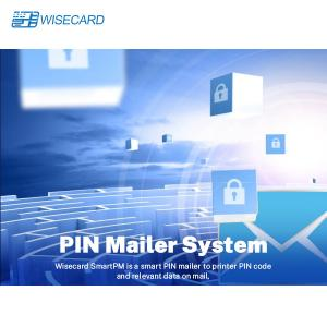 China EMV PIN Mailer Printing Information Management System on sale
