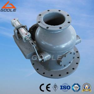 China Pneumatic Flanged Thermal Power Plant Dry Ash Inlet Valve (GJQ641FM) on sale