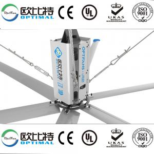 China OPT 24 foot hvls air cooler industrial fan power consumption  with factory lowest price for you on sale