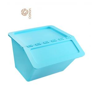 China 2018 hot sale High Quality Side Open Stackable Plastic Storage Box on sale