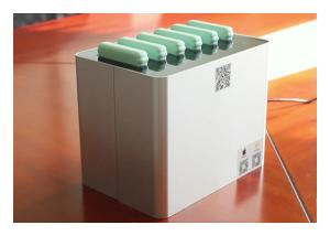 China New Battery Design Mobile Phone Charging Station, Share Power Bank Station with 6 Slots for 6 Power Bank on sale
