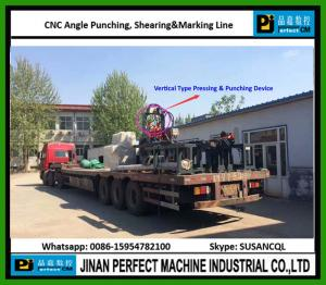 China China CNC Angle Production Line for Sale Used in Iron Tower Industry (BL1412A) on sale