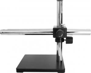 China Multi Position Microscope Boom Stand Weighted Base Single Or Dual Arm on sale