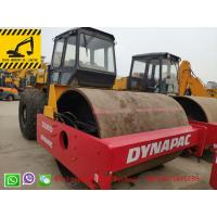 China 13000kg Weight  Good Condition Vibratory Compactor Yellow Color  Single Drum Used Road Roller CA301D on sale