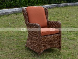 China CA1609 rattan deep seating with cushion poly rattan garden furniture on sale