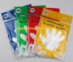 biodegradable compostable Disposable gardening pe glove heat resistant food grade gloves,PE or poly gloves with embossed