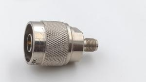 China Broadcast Devices RF N Type Male To SMA Female Adapter 50 Ohm  DC 8.5GHz on sale