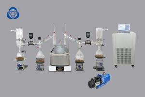 China Turnkey Solution Short Path Distillation Kit Herbal Extraction Equipment High Efficiency on sale