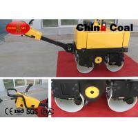 China Net Weight 780kg  26L Road construction Machinery  Hand Operated Double Drum Asphalt Road Roller on sale