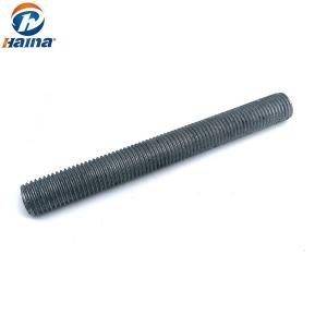 China ASTM A193 DIN975 DIN976 Fully Threaded Rod HDG Stud Bolt For BT Tower on sale