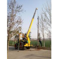 China High performance pole pit making machine pole hole drilling machine india tractor on sale