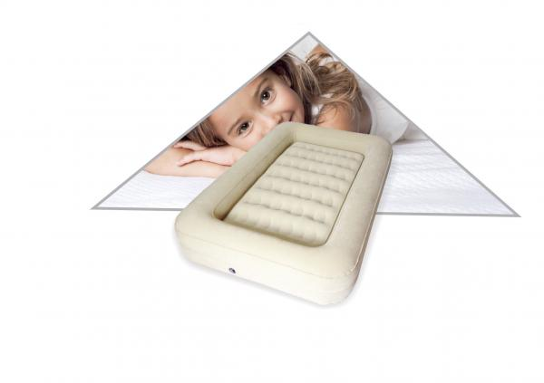 child size air mattress Fantastic Beige Kids Travel Flocked Air Bed Inflatable Child Size  child size air mattress
