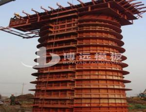 China pier column formwork,bridge pier formwork on sale