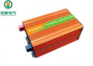 China Shockproof High Frequency Pure Sine Wave Inverter , 2500 Watt Pure Sine Inverter on sale