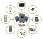 Home 12VDC 500W Solar PV Power System Low Frequency