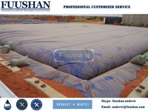 China FUUSHAN High Quality PVC Portable Customized Water Storage Tanks For Sale on sale