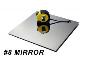 China 8K Mirror Online Metal Rolled Stainless Steel Sheets 316L With BA Finish on sale