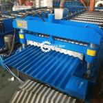 Steel Wave Profile 8m/Min 20mm Corrugated Roll Forming Machine
