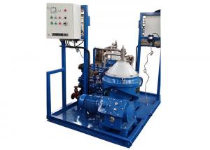 China Continuous Heavy Fuel Oil Purifier For Marine / Marine Oil Centrifuge Separator on sale