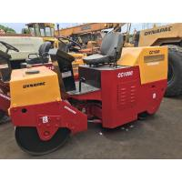 China Used Dynapac Road Roller Cc1000  Speed 9km / Hour With Flexible Working Skills on sale