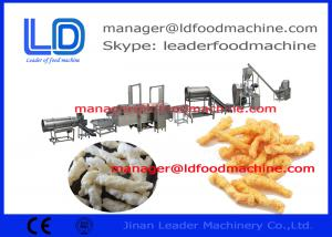 China corn curls extruded snacks machinery  on sale