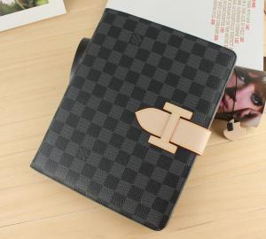 Quality Checkered Pu Leather Case For Ipad 2 3 4 Mini W T Arm