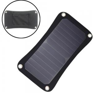China Portable Solar Phone Battery Charger 5W 5V USB Output For Mobile Phone Charging on sale