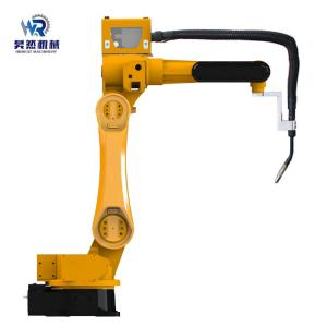 China Automatic Control 6 Axis CNC Welding Robot Machine 2.7kVA For Furniture on sale