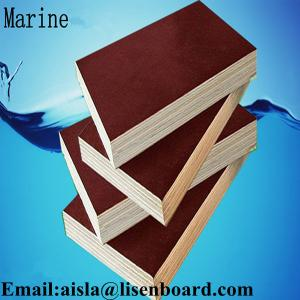 China FFP phenolic marine plywood,construction plywood,18mm black or brown film faced plywood on sale