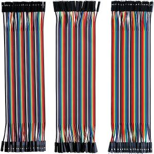 China 40pin Dupont Cable 20cm Various Length Jumper Wire Male To Female Multicolored Ribbon Cable on sale