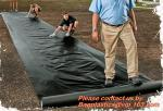Construction Builder Film Waterproof Dampproof Clear / Black Plastic Poly Film Rolls PVC EPDM PONDS LINER Geomembrane
