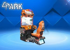 China Sitdown Full Motion Cabinet Adult Ride Racing Game Machine Simulator Super - Deluxe on sale