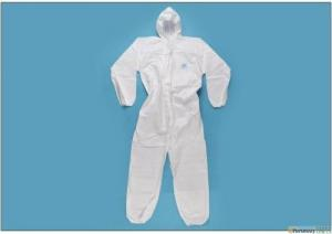 China Clinical Staff Acid Resistant Overalls , Isolation Protective Suits Chemicals on sale