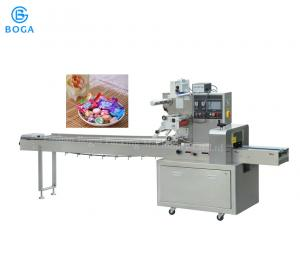 China Rotary Energy Candy Bar Wrapping Machine Paper Plastic PE Material Optional on sale