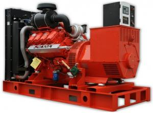 China Best Offer Scania engine diesel generator on sale
