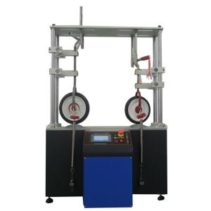 China Lab Testing Equipment PLC Controll Smart Design Kids Tricycles Durability Tester with Durable Clamps on sale