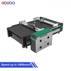 China cnc corrugated honeycomb paper cardboard box cutting machine for sale on sale