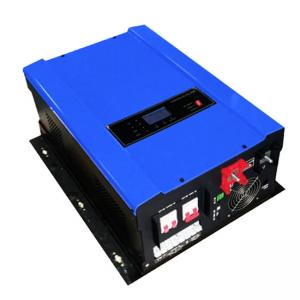 China 15000W 48V Hybrid Inverter off grid high frequency converter dc to ac with solar MPPT on sale