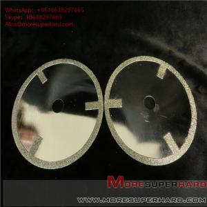 China Electroplated Diamond Cutting Blades & Discs  Alisa@moresuperhard.com on sale