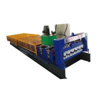 China Cable Tray Metal Cladding Sheet Roof Tile Roll Forming Machine on sale